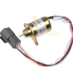 fuel shut off solenoid for john deere 4105 4210 4310 4410 4510 4610 4710 tractor [ 1600 x 1600 Pixel ]