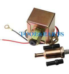 for thermo king tripac apu rv rigmaster truck 12v electric fuel pump [ 1600 x 1600 Pixel ]