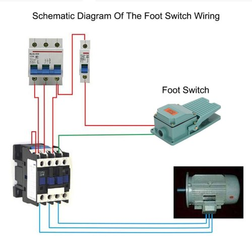 small resolution of durable antislip industrial foot operated pedal switch footswitch ac 250v 15a