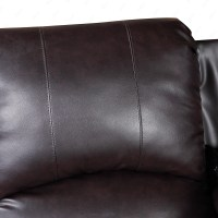 Elegant Leather Sofa 1 Seater Recliner Chair Lazy Boy Sofa ...