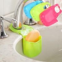 Kitchen Sink Sponge Holder Bathroom Hanging Strainer
