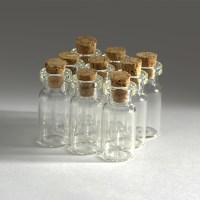 Wholesale 0.5--10ML Tiny Clear Glass Bottles Empty Glass ...