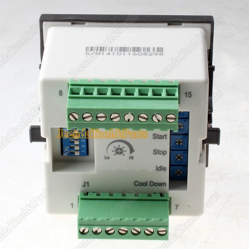medium resolution of new automatic controller kutai gcu 10 generator control magnetic pickup wiring