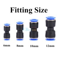 32 Size Pneumatic Push In Fittings Air Valve Water Hose ...