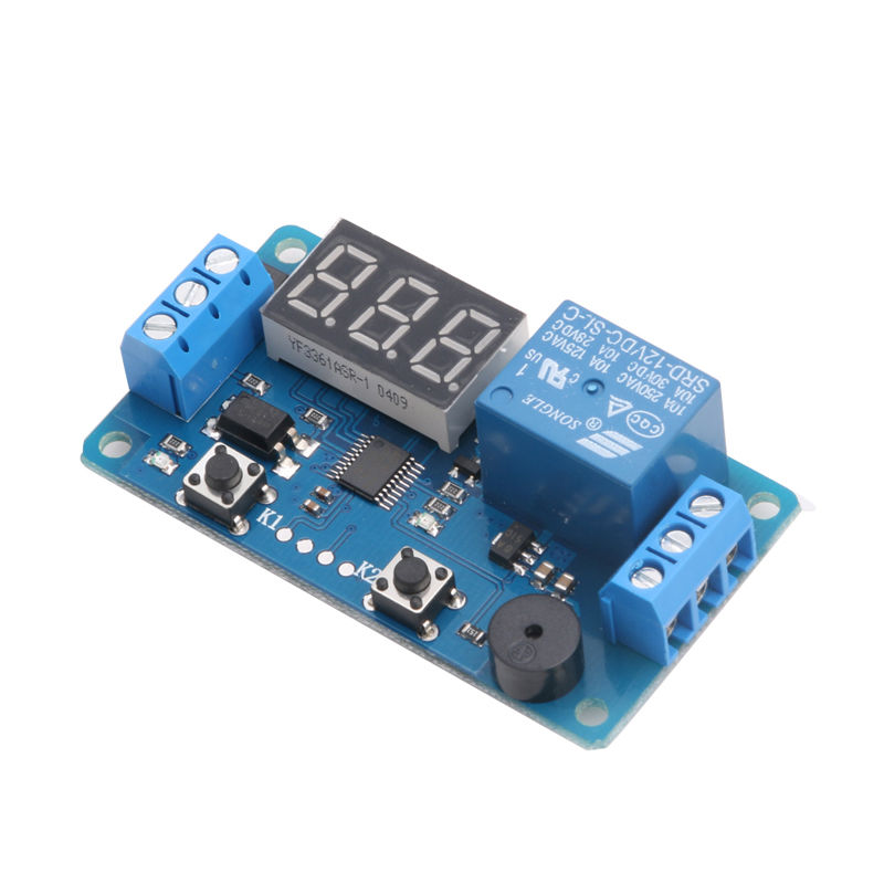 Buzzer Employed Timer Circuit With Optional Optocoupler