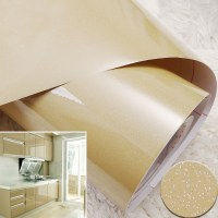 Gloss Champagne Kitchen Wallpaper Roll Self Adhesive