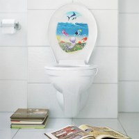 24 Toilet Seat Wall Sticker Vinyl Art Removable Bathroom ...