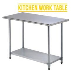 Prep Tables For Kitchen Handmade Sinks 2ft4ft Commercial Stainless Steel Restaurant Work