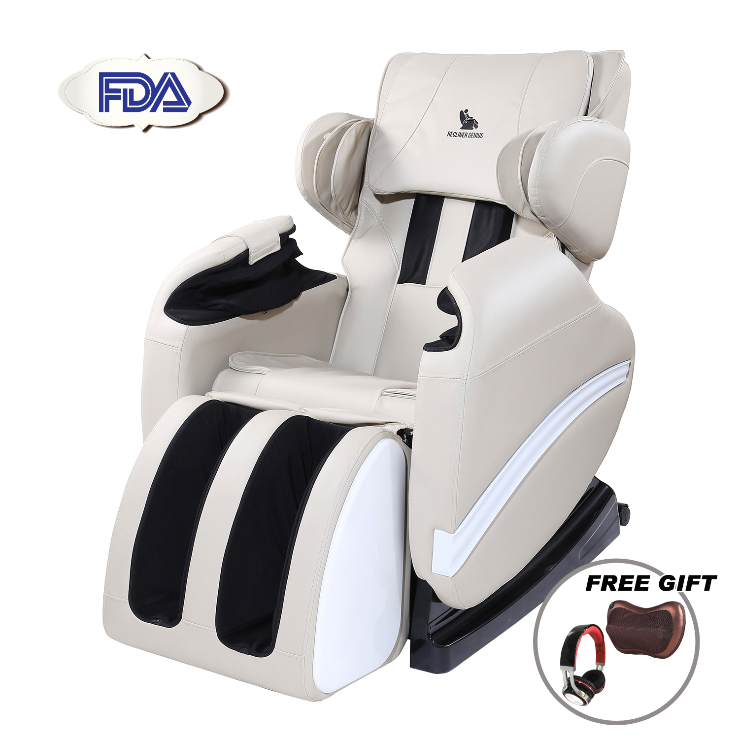 shiatsu massage chair recliner w heat stretched foot rest 06c upholstered vintage chairs full body electric armchair zero