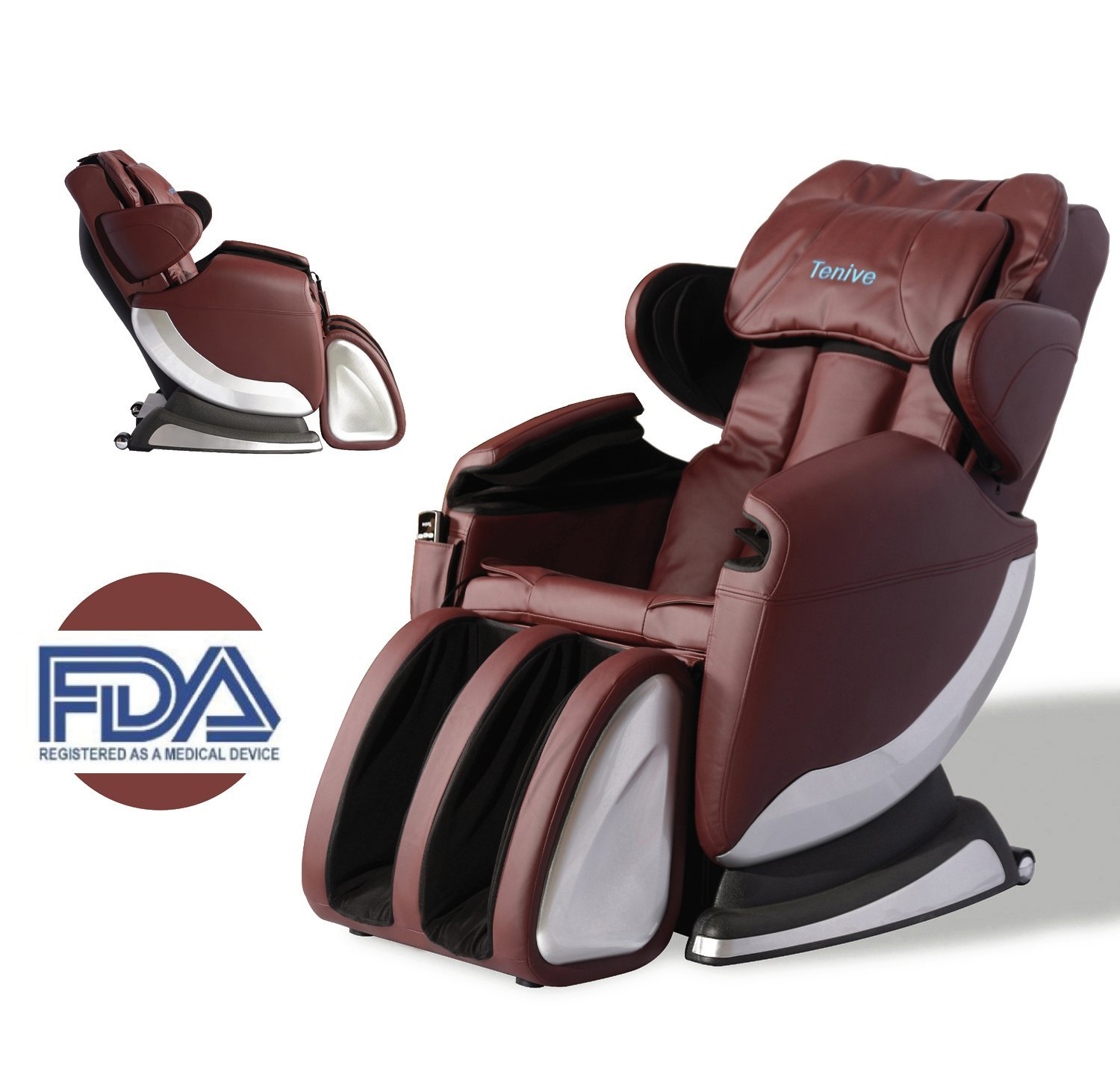 Roller Chairs New Full Body Shiatsu Massage Chair Recliner W Back Roller