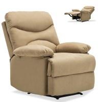 Ergonomic Massage Recliner Sofa Chair Microfiber Lounge ...