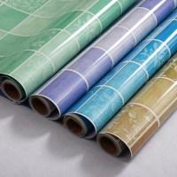 yazi Self-adhesive Wallpaper Green Contact Paper Wall ...