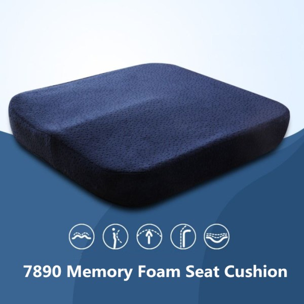 Memory Foam Orthopedic Seat Cushion Coccyx