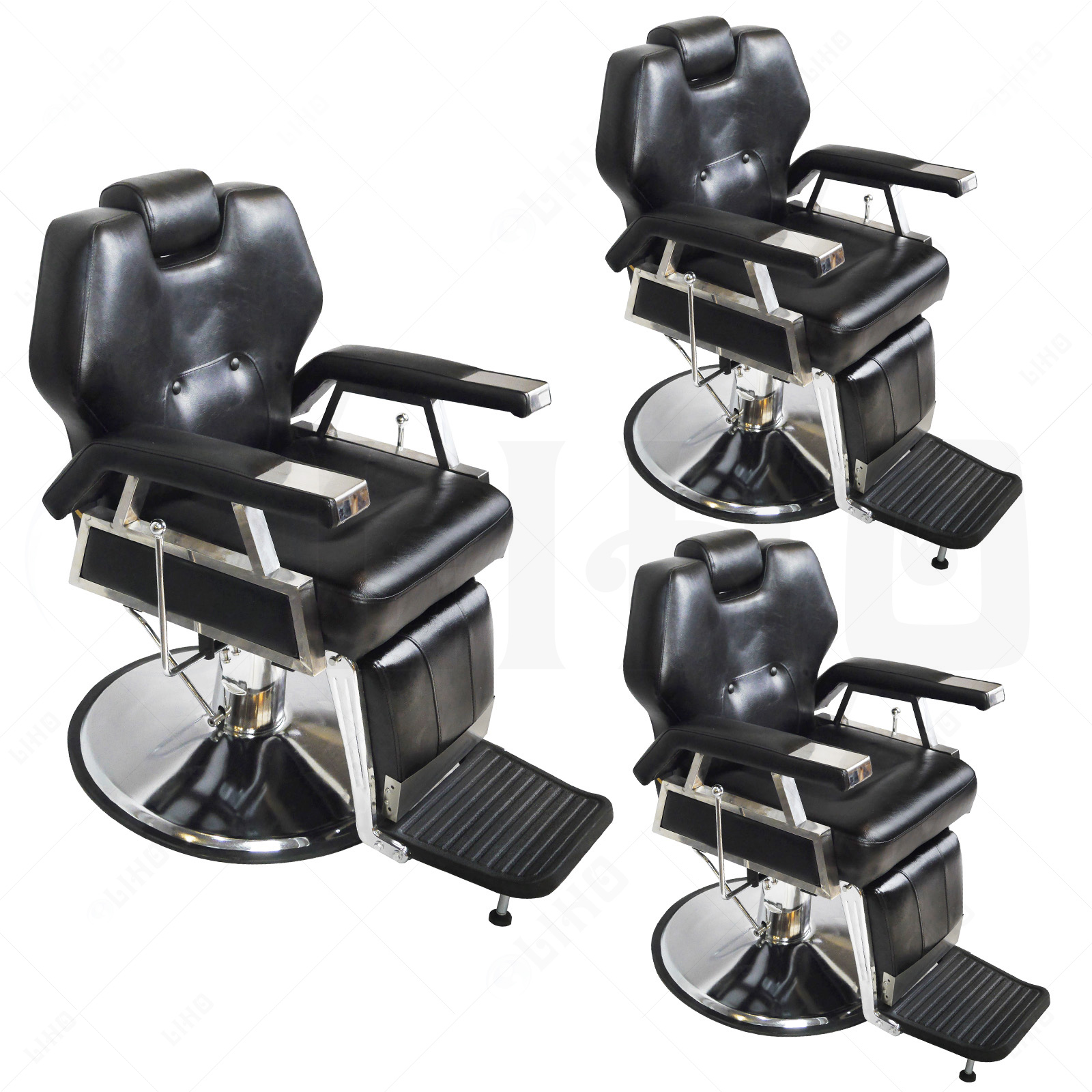 Hydraulic Chairs Hydraulic Reclining Barber Chair Salon Hair Styling Beauty
