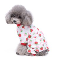 Small Dogs Pets Cute Pajamas Dog Clothes Sleepwear Animal