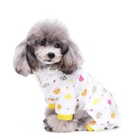 Small Dogs Pets Cute Pajamas Dog Clothes Sleepwear Animal ...