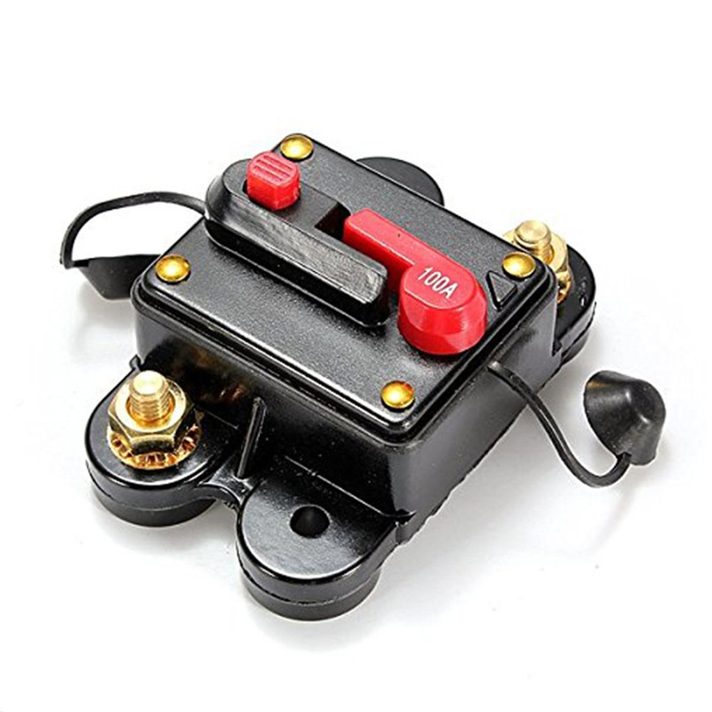 hight resolution of details about 12v 100 amp manual reset circuit breaker car boat power protection fuse holder