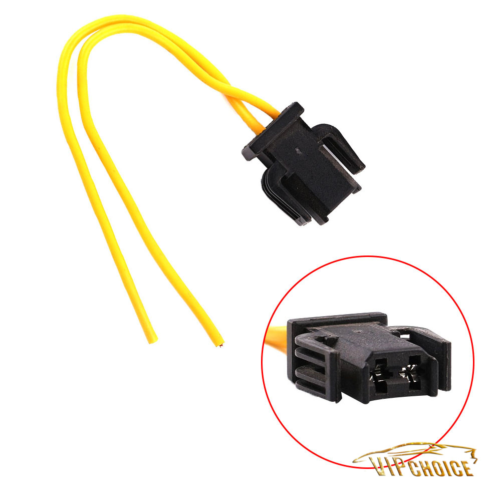 medium resolution of details about 2 pin brake tail light wiring plug socket pigtail for vw golf audi a4 skoda seat