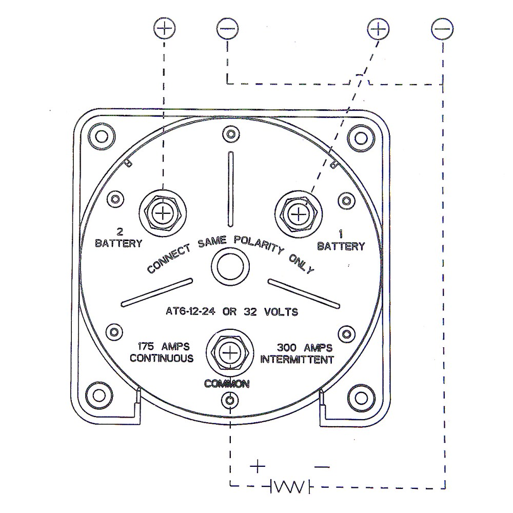 medium resolution of dual marine battery switch selector for rv boat replaces guest perko 4 position