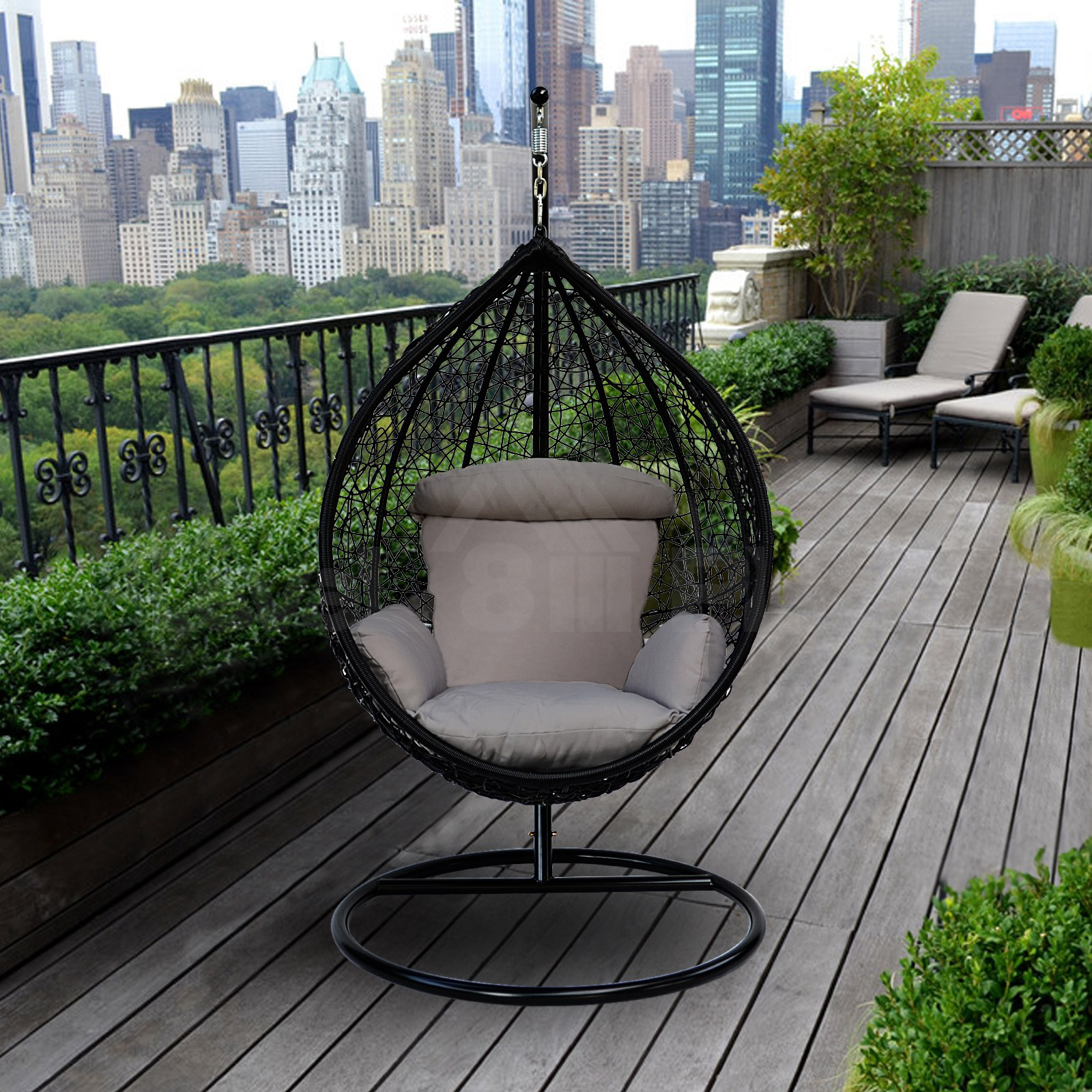 hanging chairs garden furniture heavy duty chair mat patio swing egg seater stand hammock wicker