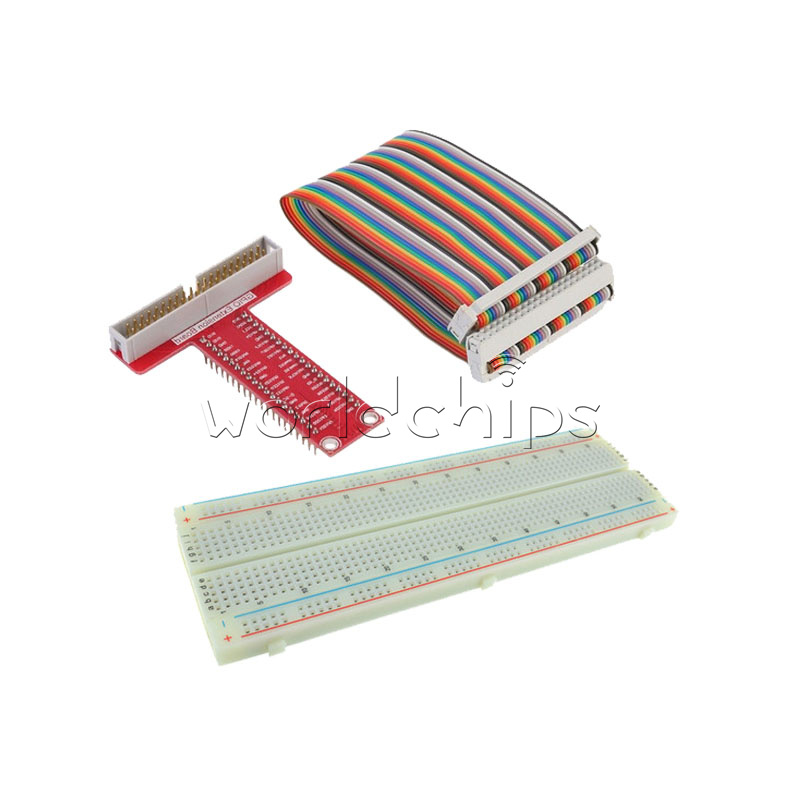 Details About Electronic Circuit Diy Breadboard 830 Point Board 65pcs
