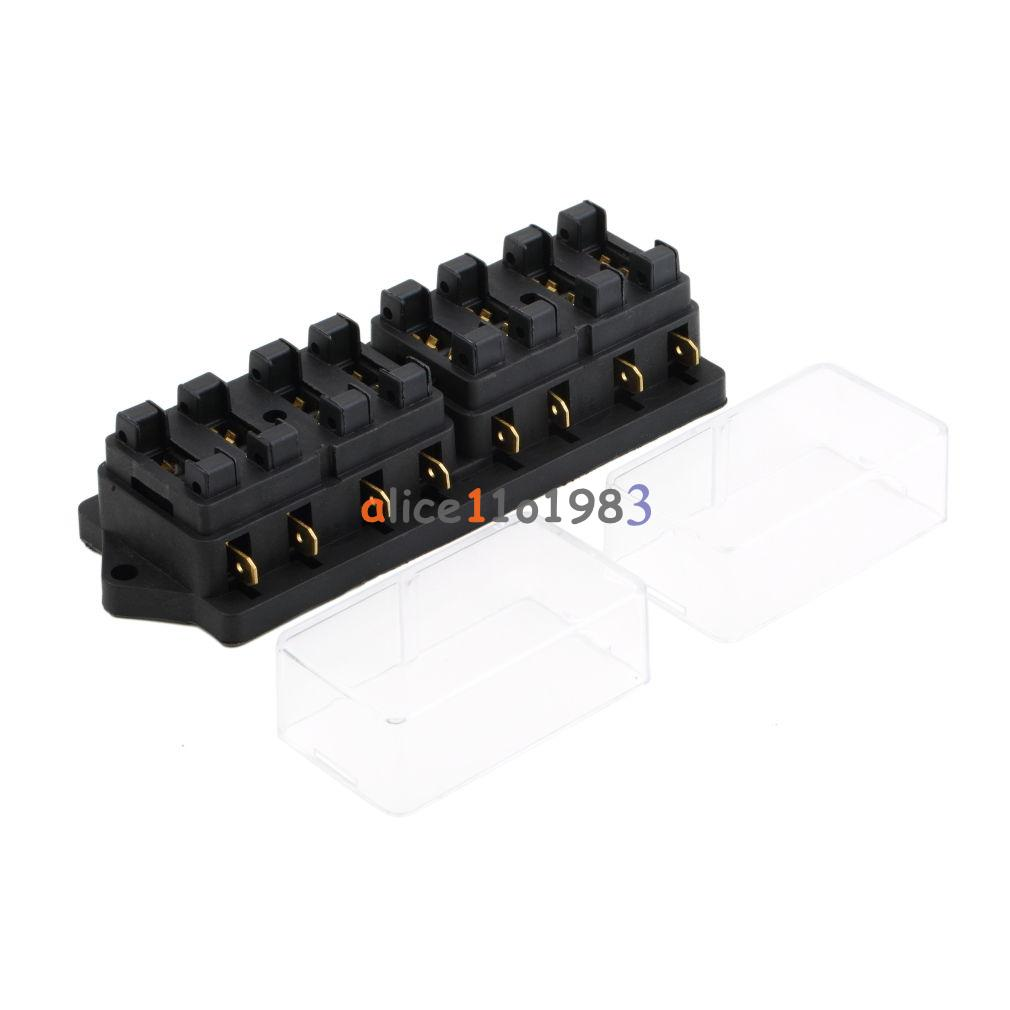 hight resolution of details about 8 way circuit car boat auto automotive blade fuse box block holder atc ato