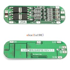 3s Bms Wiring Diagram 3 Phase Split Ac 20a Li Ion Lithium Battery 18650 Charger Pcb