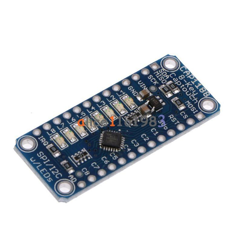 Microcontroller How Can I Use A Generic Doorknob As A Capacitive