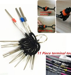 details about car plug circuit board wire harness terminal pick connector crimp pin tools 11pc [ 1200 x 1200 Pixel ]