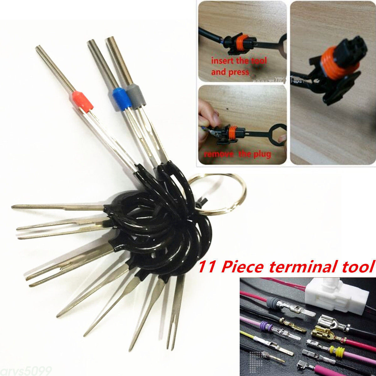 hight resolution of details about car plug circuit board wire harness terminal pick connector crimp pin tools 11pc
