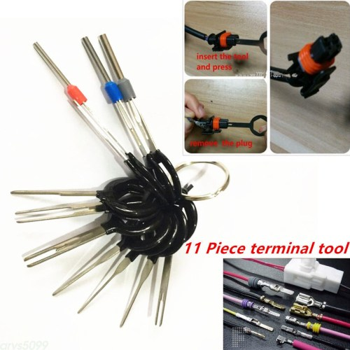 small resolution of details about car plug circuit board wire harness terminal pick connector crimp pin tools 11pc