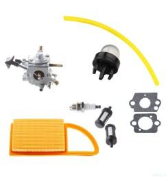 details about carburetor fit stihl br500 br550 br600 zama c1q s183 carb backpack blower parts [ 1330 x 1330 Pixel ]