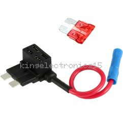 details about 12v car add a circuit fuse tap adapter standard atm apm auto blade fuse holder k [ 1000 x 1000 Pixel ]