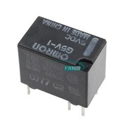 10pcs 6pin 5v g5v 1 5vdc signal relay 6 pins for omron relay 5v new omron my4n 24vdc wiring diagram omron g5v 1 relay wiring diagram [ 1000 x 1000 Pixel ]
