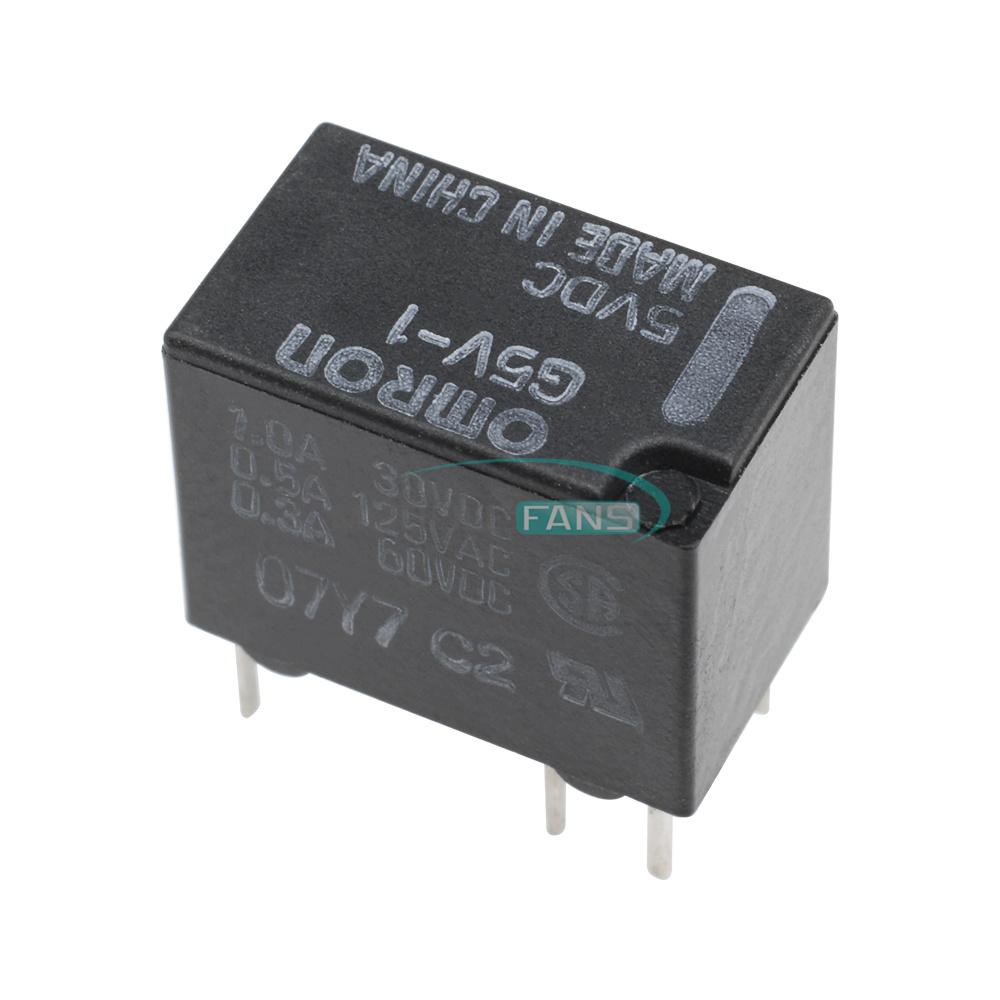 medium resolution of 10pcs 6pin 5v g5v 1 5vdc signal relay 6 pins for omron relay 5v new omron my4n 24vdc wiring diagram omron g5v 1 relay wiring diagram