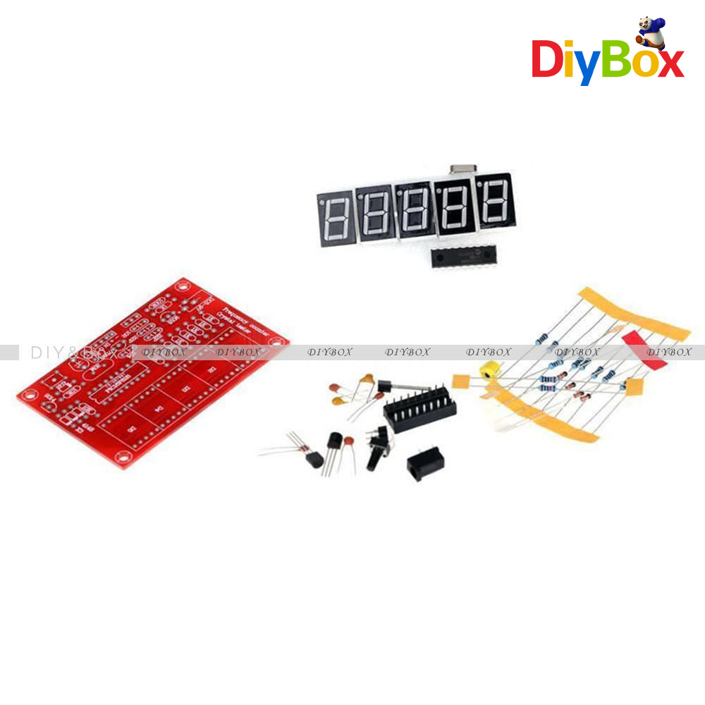 Frequency Counter Circuit 555 Simple 3 1 2 Digit Frequency Counter