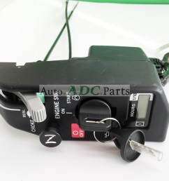 new ignition key switch control box for honda gx630 gx690 10kw generator [ 1800 x 1594 Pixel ]