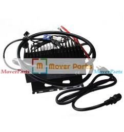 24v 25a universal replacement battery charger 7041782 for jlg 1 year warranty [ 1600 x 1600 Pixel ]