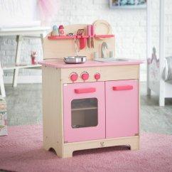 Hape Kitchen Fireclay Sink Gourmet Pink Akiddo