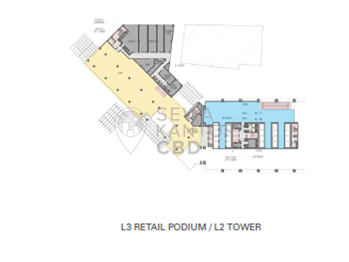 hight resolution of sewa kantor gedung world trade center 3 jakarta selatan setiabudi sudirman jakarta floor plans 2
