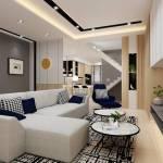 Contemporary Minimalistic Living Room Terrace Design Ideas