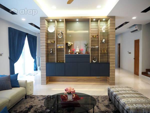 contemporary asian living room design columns in ideas malaysia multi architectural interior modern ara damansara