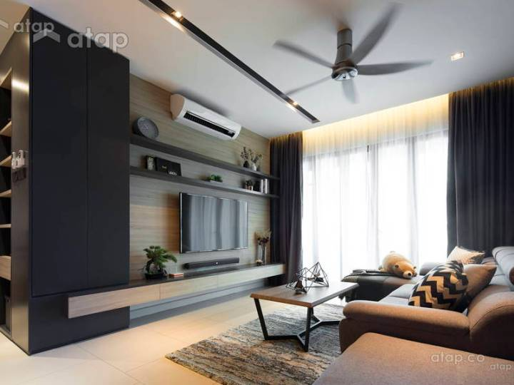 Interior design living room malaysia for Best house design malaysia