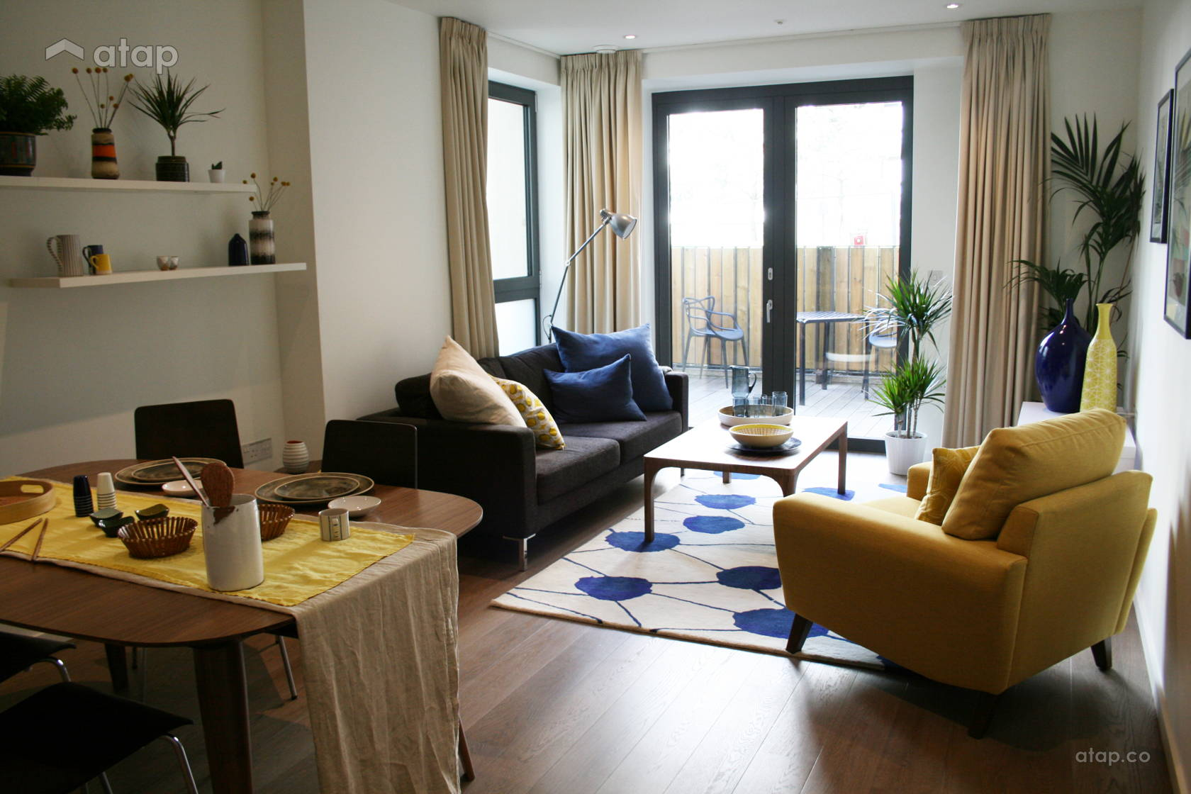 1 Room, 2 Spaces: How To Separate Your Open-Plan Living