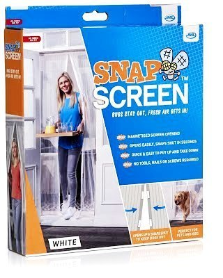 JML Snap Screen Magnetised Mesh Mosquito Bug Free Door