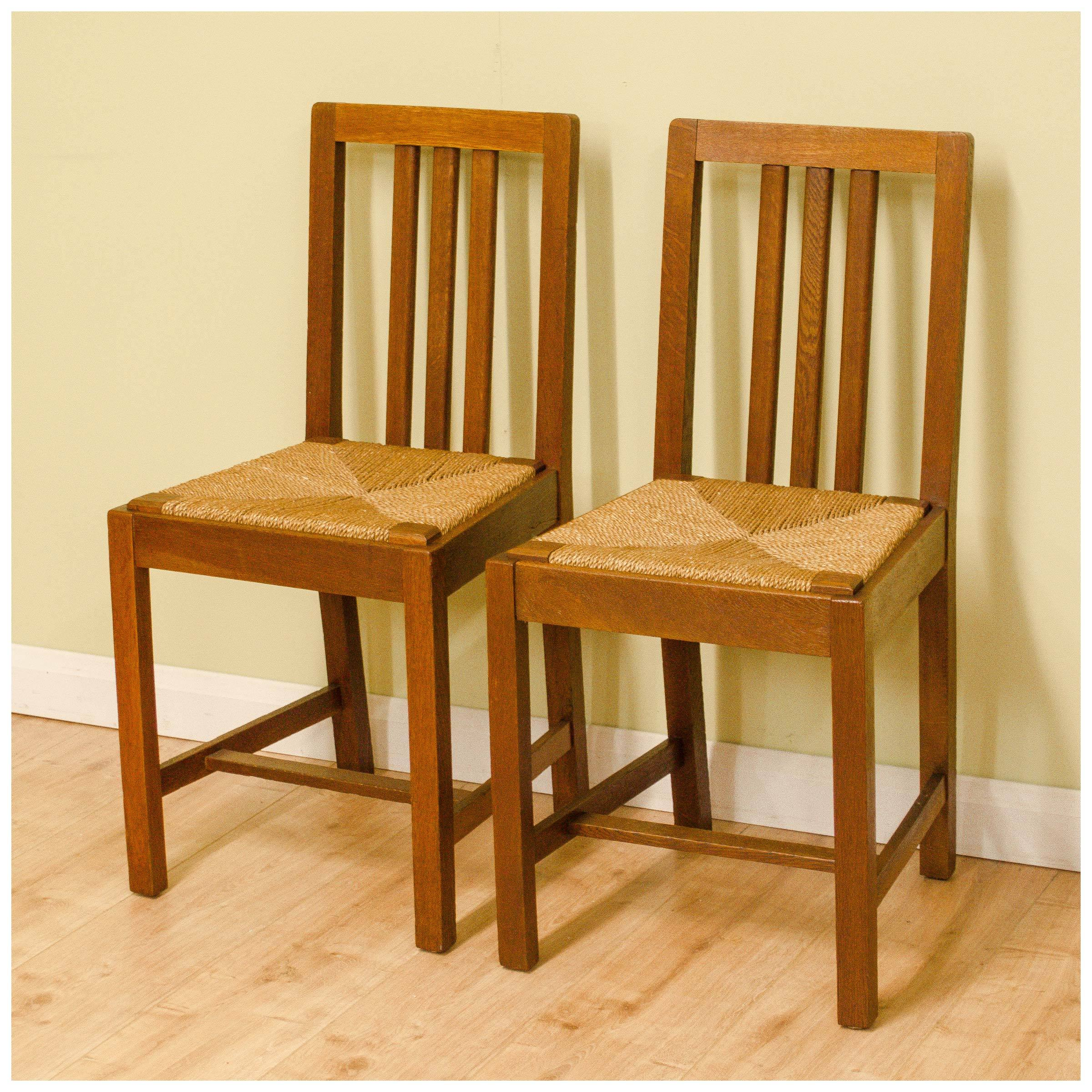 arts and crafts chairs wedding chair cover hire swindon brynmawr furniture company antique oak