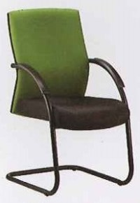 Visitor Chair C/W Armrest (Mesh/Fabric) Model: H-PC4 ...