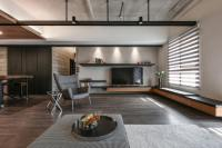 Taiwanese apartment by AYA Living uses a beautiful mix of ...