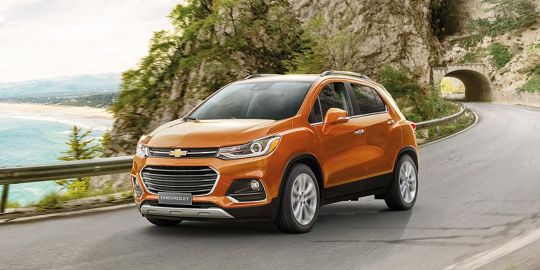Chevrolet Trax Colors Pick from 8 color options  Oto