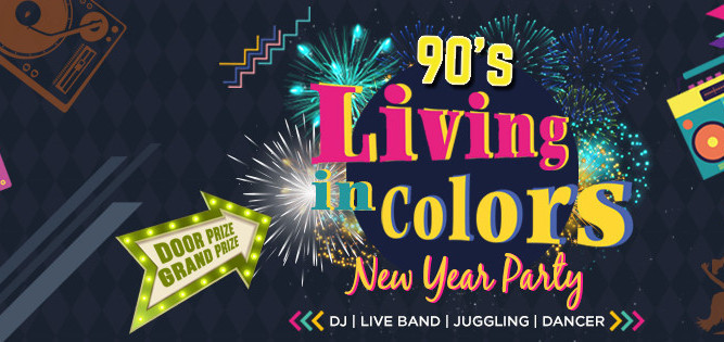 Jual Tiket New Year S Eve Party Living In Color Loket Com